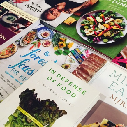 Healthy Cookbooks I Use